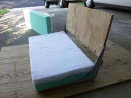 how to reupholster a boat seat cushion