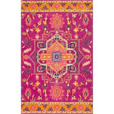 nuloom magenta runner 2 ft 6 in x 10 ft rug
