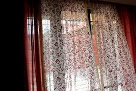 sheer window curtains india