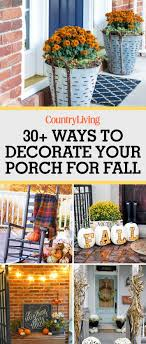 Fall Porch Decorating 37 Fall Porch Decorating Ideas Ways To Decorate Your Porch For Fall