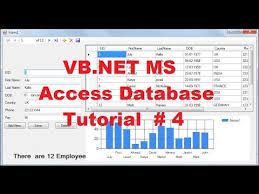 Microsoft Chart Vb Net Vb Net Ms Access Database Tutorial 4 How To Use Chart Graph With Local Database In Vb Net