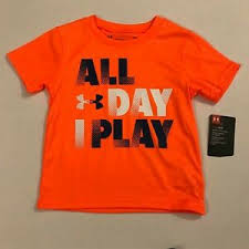 Details About Under Armour Nwt Infant Boys Top Short Sleeve All Day I Play Size 18 Months