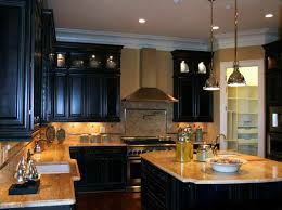 the right ideas for the dark painted kitchen cabinets with granite idea paal rights