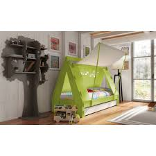Small Cabin Beds For Small Bedrooms Childrens Tent Cabin Bed In Green By Mathy By Bols Cuckooland