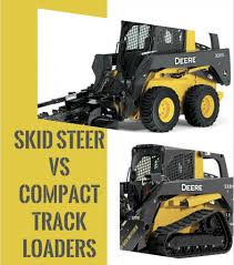 Skid Steer Vs Compact Track Loader Construction Equipment