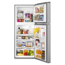 whirlpool refrigerator top freezer. whirlpool 11 cu.ft. top mount refrigerator wrt111sfdm freezer