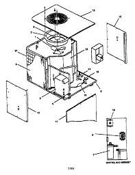 Goodman model ce48 1gb air conditioner heat pump outside unit rh searspartsdirect goodman ac unit parts diagram goodman ac wiring diagram