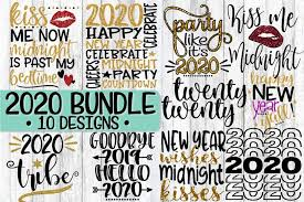 Free svg image & icon. Free Svgs Download 2020 New Year S Eve Bundle 10 Designs Svg Png Eps Dxf Free Design Resources