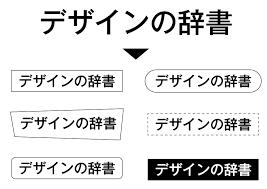 グラフィックデザイン 参考 イラストレーター 文字とタイトルの作成