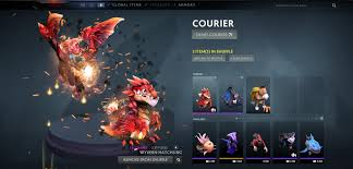 you can remove couriers wards from shuffle in dota 2 reborn