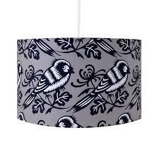 Patterned Lampshades Classy Retro Lighting Lamps Shades Hunkydory Home Intended For Patterned