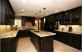 kitchen interior medium size kitchen colors for dark cabinets inspirations color ideas with