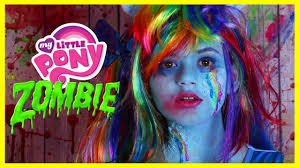 zombie my little pony rainbow dash makeup tutorial equestria doll cosplay kittiesmama you