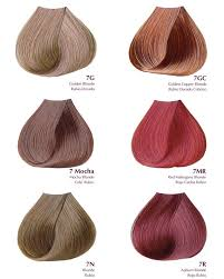Satin Hair Color Chart Satin Professional Hair Color