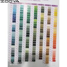 5d Diamond Painting Tool Range 447 Dmc Diamond Color Card