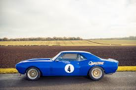 Historic 1968 Chevy Camaro Race Car To Be Auctioned Off