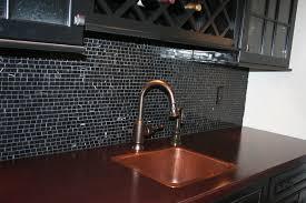 brilliant design black glass backsplash black glass tiles for kitchen backsplashes trendyexaminer