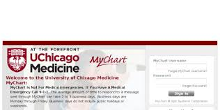 My Chart Uchospitals Mychart Application Error Page