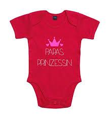 Shirt Panda Baby Body Papas Prinzessin Für Jungen Und Mädchen Mit