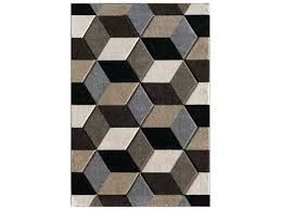 central oriental pinnacle fontanelle rectangular dark brown area rug and tan rugs