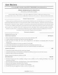 Resume Format For Admin Jobs Inspirational Office Assistant Resume