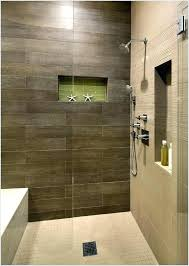 brown and grey bathroom brown and grey bathroom shower with dark brown tile and light floor