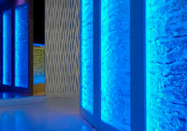 tempered glass panel patterned textured for interior tribe hyperclub