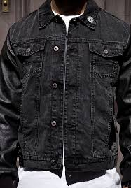 blackfront denim jacket black detail