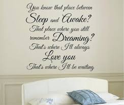 disney wall quotes decals sleep and awake peter pan quote wall sticker art  inspirational sleep and . disney wall quotes decals ...