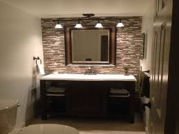 ... Bathroom over mirror lighting ideas