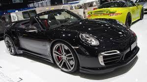 porsche 911 turbo black convertible. techart porsche 911 turbo s cabriolet exterior walkaround geneva motor show 2015 youtube black convertible