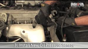 How to change Oil Pressure Sensor - 1997 Toyota Camry - YouTube