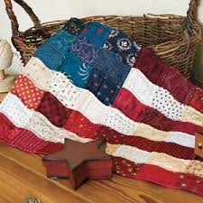 Flag: Folksy Hand Pieced American Flag Quilt Pattern & Charm Flag: Folksy Hand Pieced American Flag Quilt Pattern Adamdwight.com