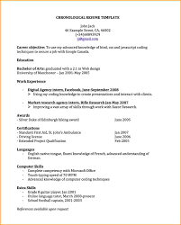 Awesome Resume Driving License Contemporary Simple Resume Office Resume  Template Chronological Chronological Resume Template 1 Resume