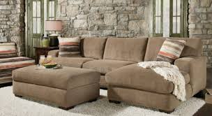 Full Size of Sofa:sectional With Large Ottoman Eye Catching Sectional Sofa  With Large Ottoman ...
