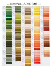 Dmc Color Chart 2018 Printable 2019 Dmc Color Chart Modern Cross Stitch