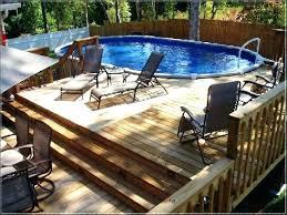 swimming pool decks. Above Ground Swimming Pool Decking Round Decks Plans Deck Kits E