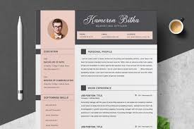 Modern Unique Resume 017 Template Ideas 01 Cleanrofessional Creative And Modern