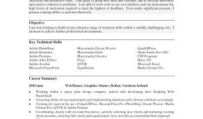 Resume Profile Example Examples Of Resumes
