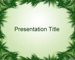 Leaves Powerpoint Templates