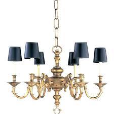 visual comfort chandelier s flanders shades double twist