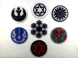 Star Wars Perler Bead Patterns Custom Star Wars Perler Bead [Coasters Decorations Magnets]