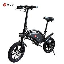 <b>DYU D3F Electric</b> Bike 36V 10AH Battery Aluminum Alloy Smart ...