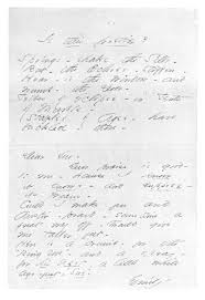 handwriting analysis of emily dickinson my strength and my song the