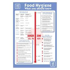 pack of food hygiene what you should know temperature posters pack of 2 food hygiene what you should know temperature posters 200mm x 300mm self adhesive vinyl sticker 2 amazon co uk diy tools