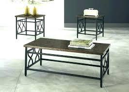 metal top coffee table. Metal Top Coffee Table Round Glass