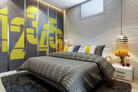 Cool Wall Paint Ideas For Modern Bedroom Decorating Ideas With Black Wool  Rug. Home U203a Bedroom U203a How To Paint A ...