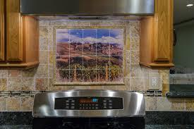 Tile Murals For Kitchen Kitchen Backsplash Tile Mural Art Mishistoriasdeterror