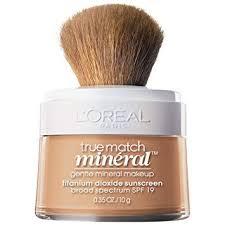 l oréal paris true match loose powder mineral foundation natural buff