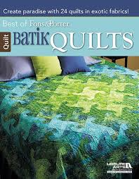 42 best Quilting Books images on Pinterest | Quilt block patterns ... & The Best of Fons & Porter's Batik Quilts Book features favorite batik quilt  patterns from Fons Adamdwight.com